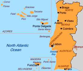 Mapa De Portugal Completo.Olivenca E Portugal Mapa De Portugal Correcto E Mapa Do